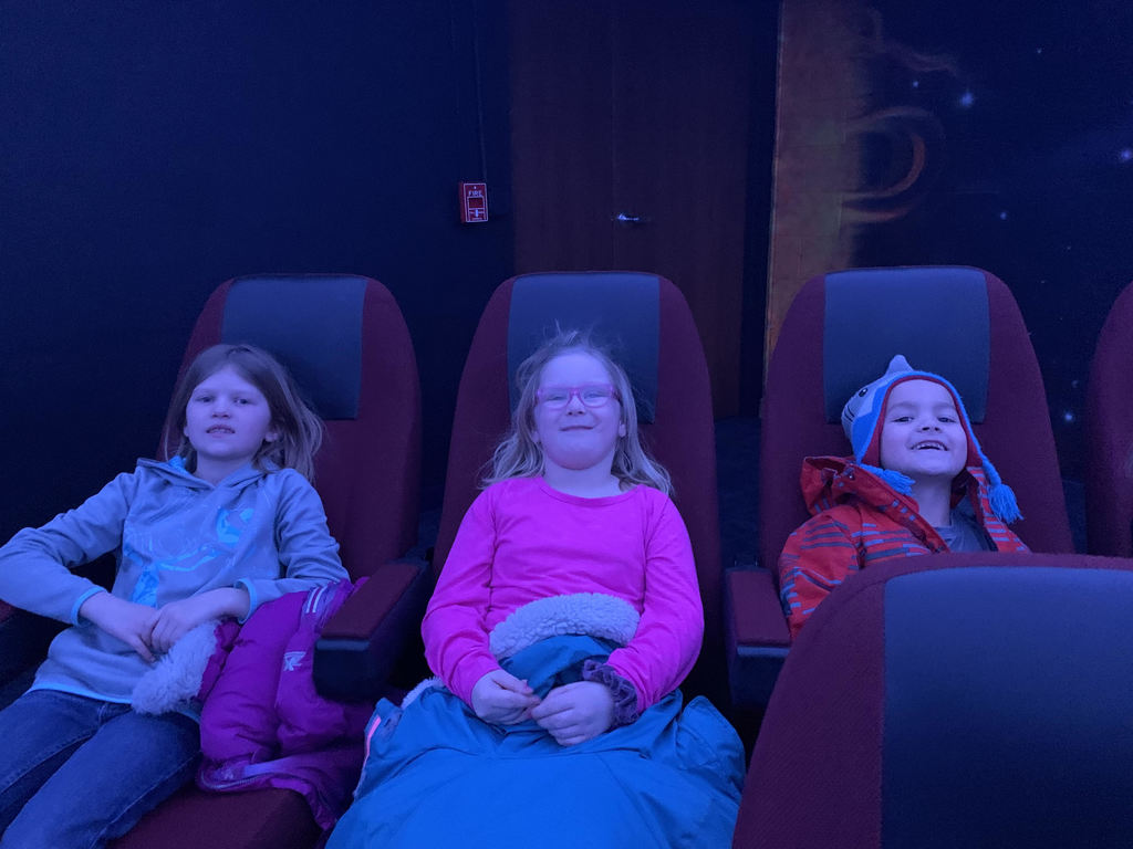 First Graders at the Planetarium